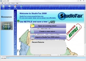 StudioTax Tax Software Review