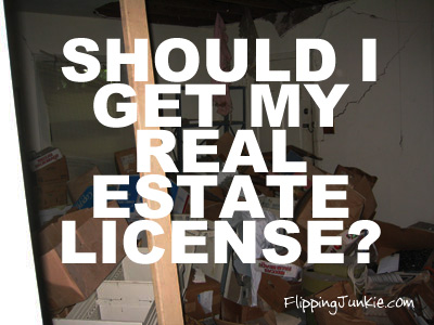 As An Investor Should I Get My Real Estate License?