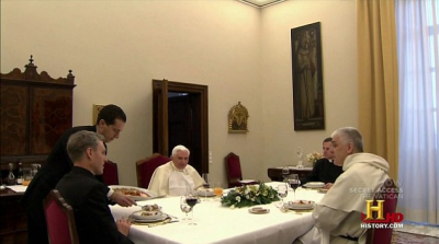 Pope Francis's New Home In The Vatican City
