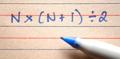 Do you know what 1+2+3+4+5+6 through 365 equals?