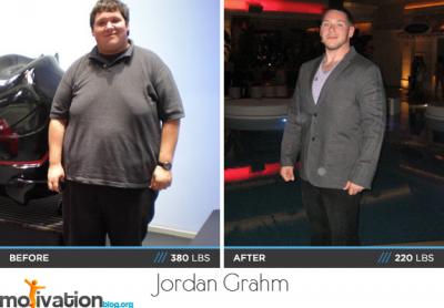 Jordan Grahm body transformation