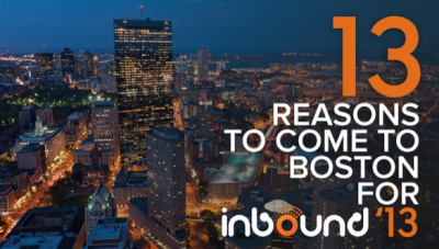 13 Reasons INBOUND 2013 Is Boston's Can't-Miss Event