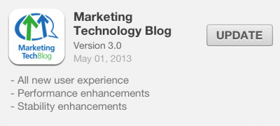 The Best Marketing Mobile Application! Version 3