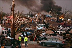 Top 10 Worst Cities For Tornadoes in the United States
