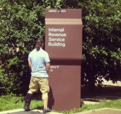 "IRS Targeted ""Folks Waving Tea Bags Around"""