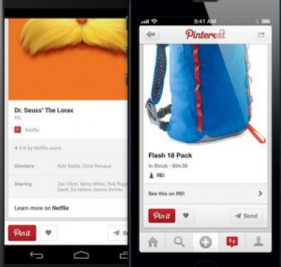 Pinterest Adds More Details to Recipe, Movie and Product Pins