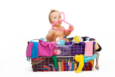 How to Handle Kids Clothes Pileups