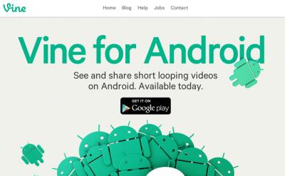 Vine for Android Arrives …. Kinda.