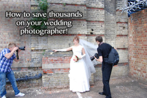 How We Saved Thousands on Our Wedding Photographer