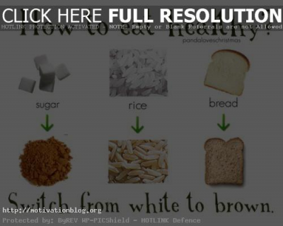 How to eat healthy – tips + MORE