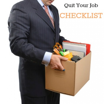 A Checklist for Quitting Your Job