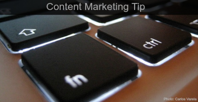 A Content Marketing tip your competitors don't want you to know + MORE