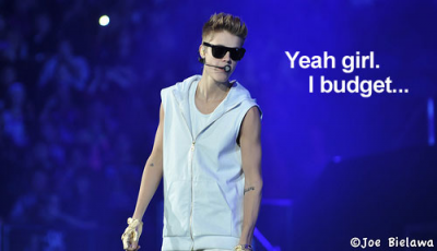 In Which I Enter a Justin Bieber Contest.