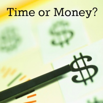 Money or Time: What's More Valuable?
