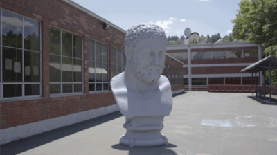 These Spellbinding GIFs Put Greek Statues Into Motion