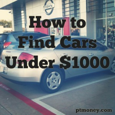 How to Find Cars Under $1000