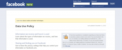 Examining your rights and Facebook's privacy policies