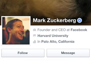 Facebook adds verified profiles to iOS app