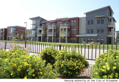 New Look of Public Housing Debuts in Milwaukee