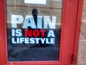 Pain is NOT a Lifestyle