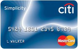 My New Balance Transfer Credit Card – Citi Simplicity MasterCard