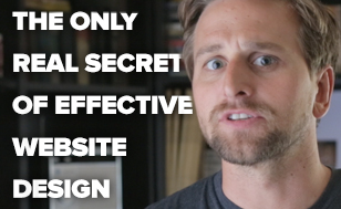 The Only Real Secret of Effective Website Design (unmissable video + course release)