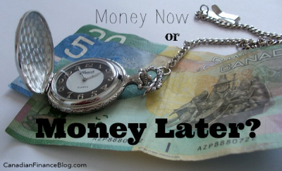 Money Now or Money Later?