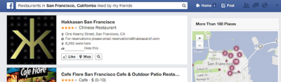 STUDY: Facebook beating out niche sites for local search