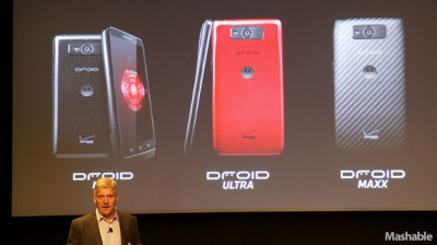 Verizon Unveils 3 New Droid Phones