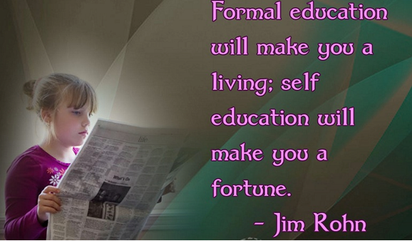 I Love to Learn! How Technology will help me to Self-Educate