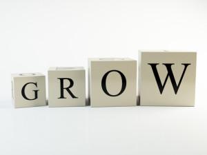 the word Grow