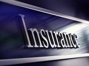insurance company plaque, 3d rendering