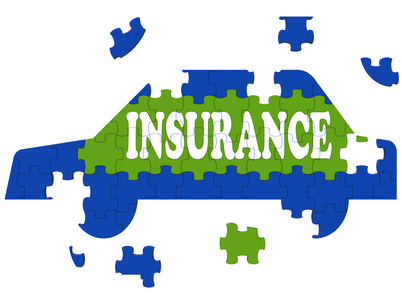 Car Insurance Showing Protection Against Automobile Accident