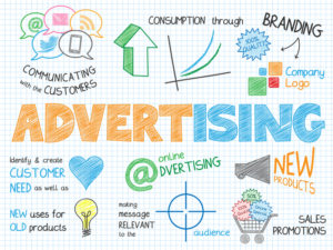 ADVERTISING Vector Sketch Notes