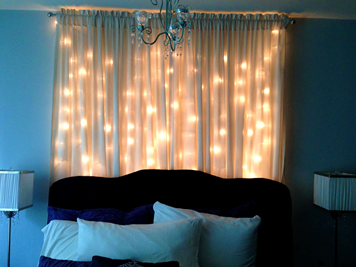 curtain lightning